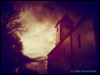 Kirche, düstere Stimmung, Endzeitstimmung